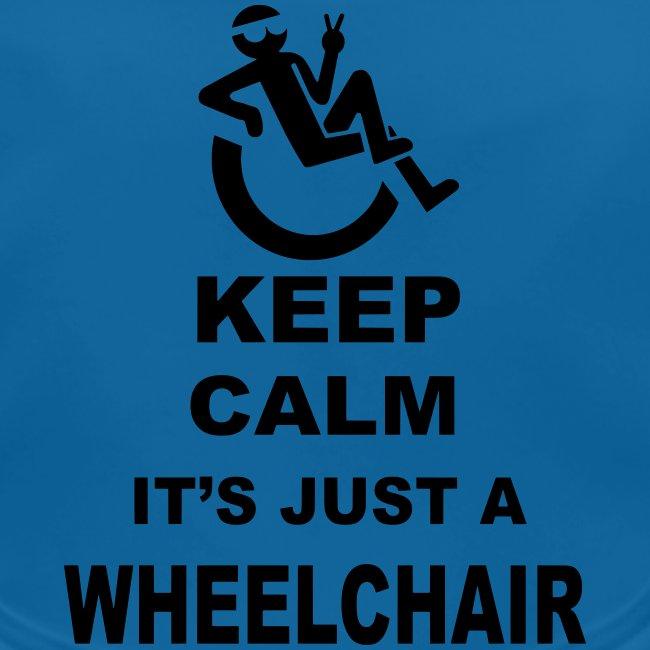 Rustig blijven, het gewoon een rolstoel 002