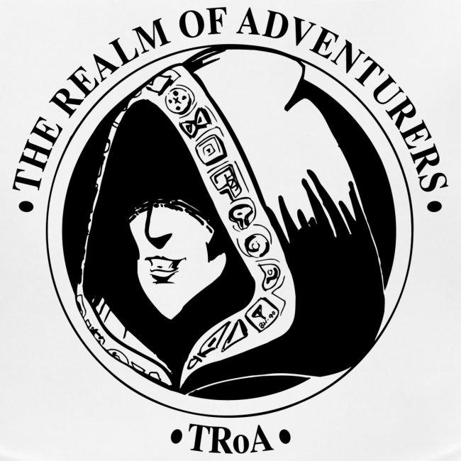 TRoA Logo Sort til lyse trøjer png