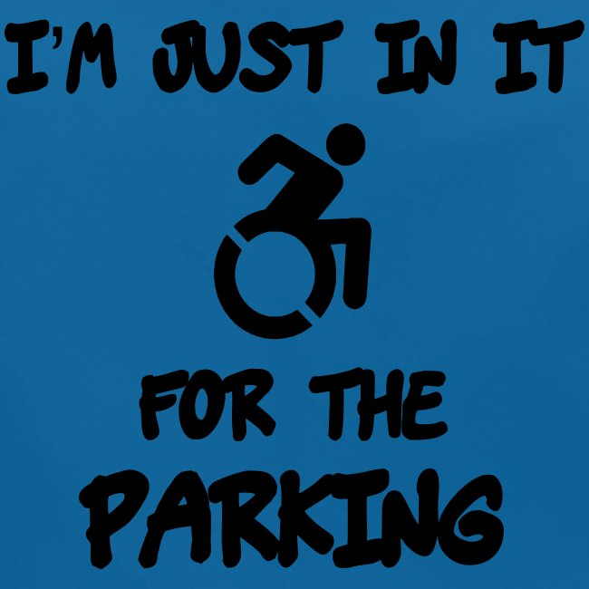 Ik zit in rolstoel voor parkeer voordelen