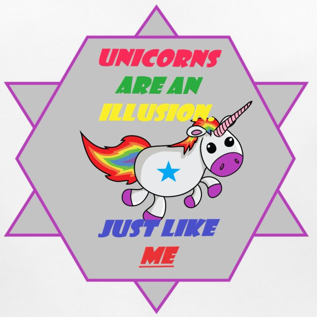 Unicorn with joke