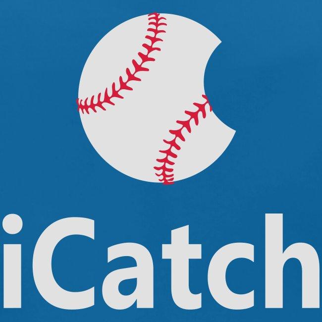 """Baseball Logo """"iCatch"""""""