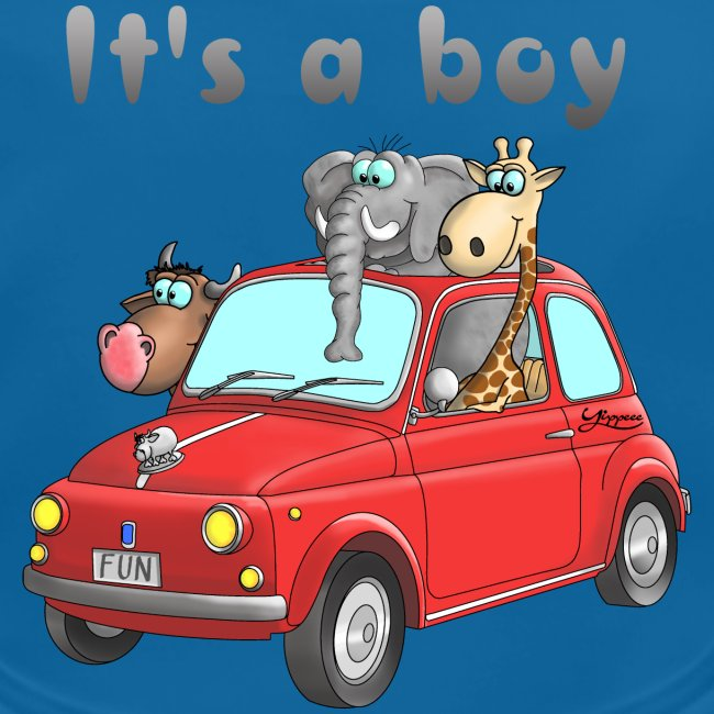 It's a boy - Baby - Cartoon - lustig