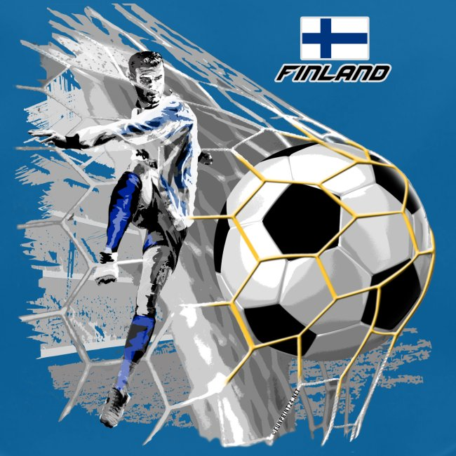 FINLAND FOOTBALL SOCCER PLAY T SHIRTS, GIFTS etc.