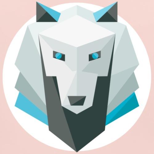 Wolf - Baby Organic Bib