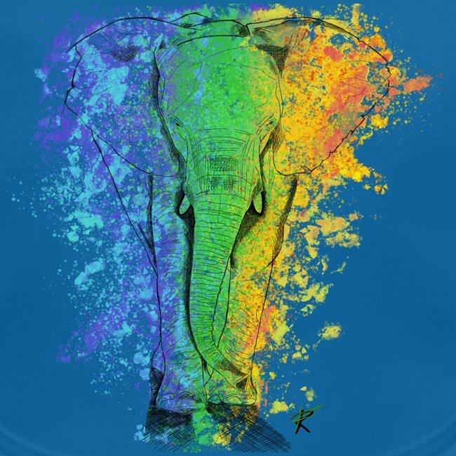 Elefante sketch color