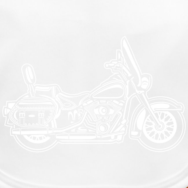 Chopper / Motorrad 06_weiß