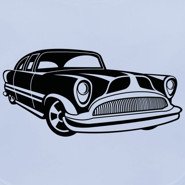 Lowrider / Oldtimer / Muscle Car 03_schwarz