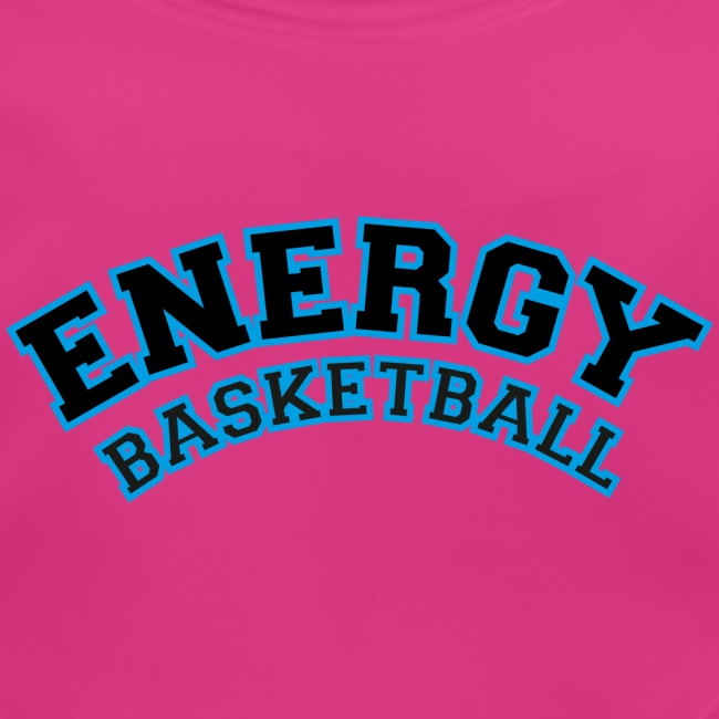 baby energy basketball logo nero