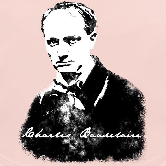 Baudelaire (fond blanc) + signature