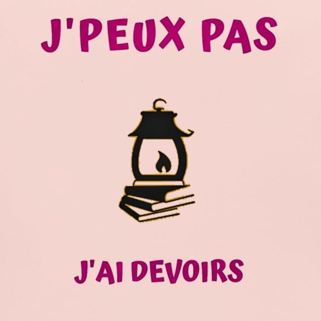 j'PEUX PAS J'AI DEVOIRS