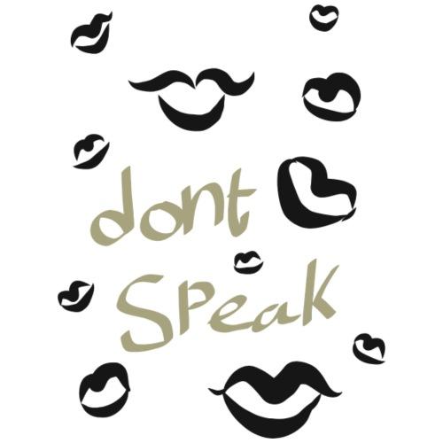 HW dont speak - Hagesmække af økologisk bomuld