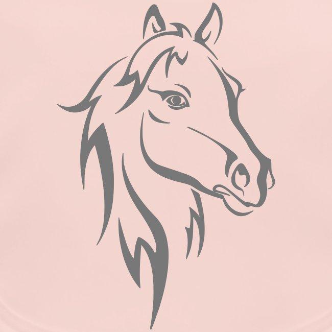 Vorschau: Horse - Baby Bio-Lätzchen