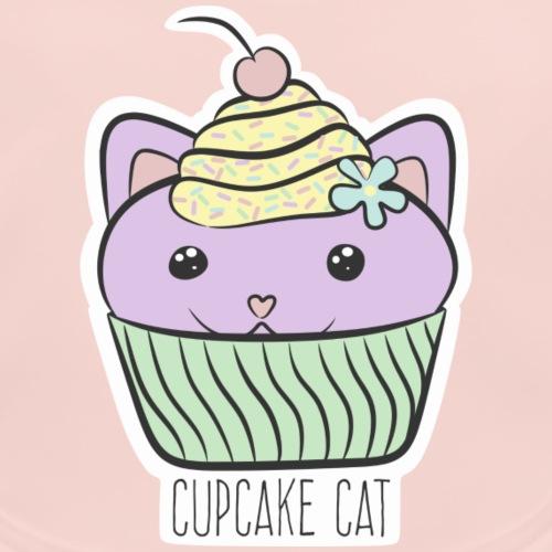 Cupcake Cat - Baby Bio-Lätzchen