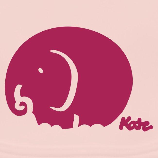 Elefant (farbig)
