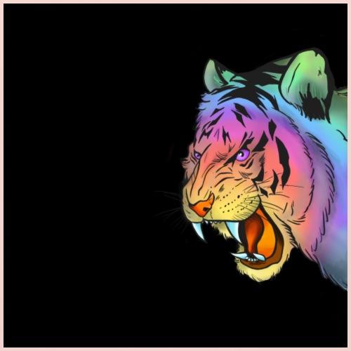 Raimbow Tiger - Bavaglino ecologico per neonato