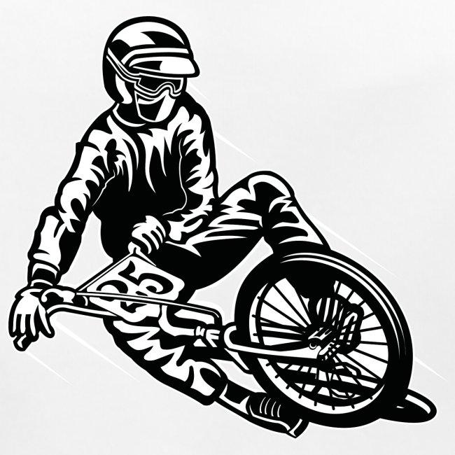 BMX / Mountain Biker 03_schwarz weiß