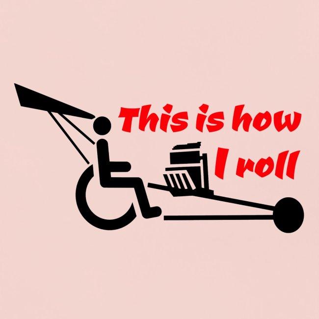 Zo rol ik met mijn rolstoel 009