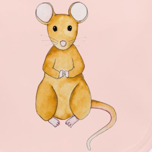 Mäuschen - Baby Bio-Lätzchen
