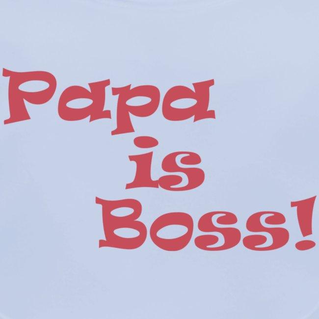 Papa is Boss! - pink