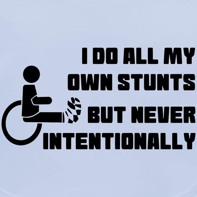 I do all my own stunts 004