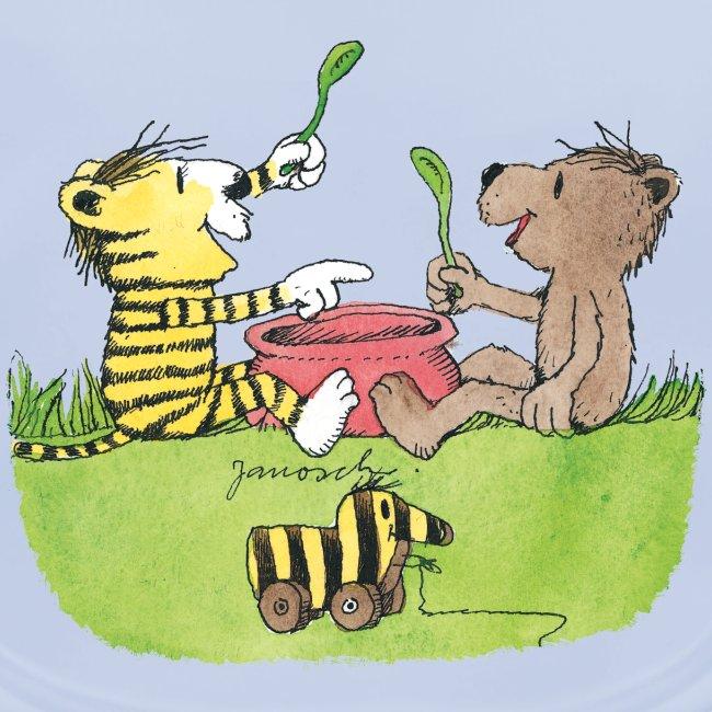 Janosch Tiger Und Bär Löffeln Aus Dem Topf