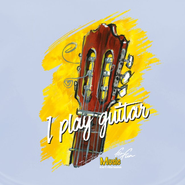 I play guitar - limited edition '19