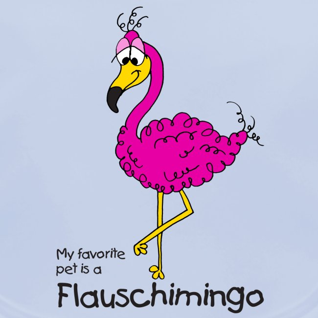 My favorite pet is a Flauschimingo