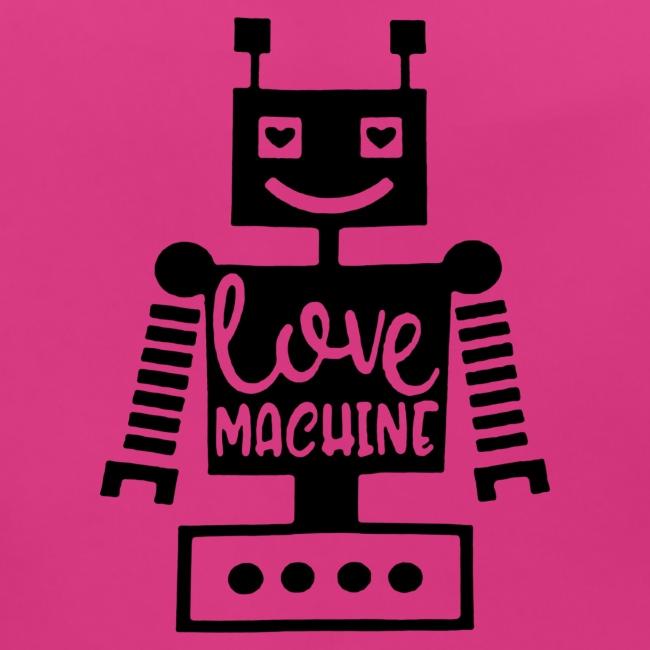 Black Design Love Machine