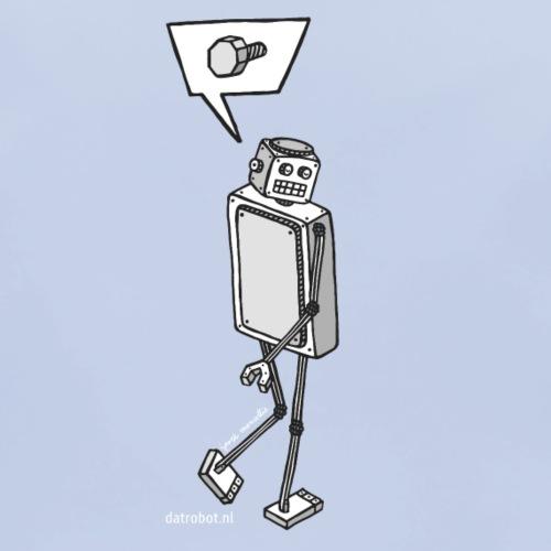 Dat Robot: Nerd Flirt Men - Bio-slabbetje voor baby's