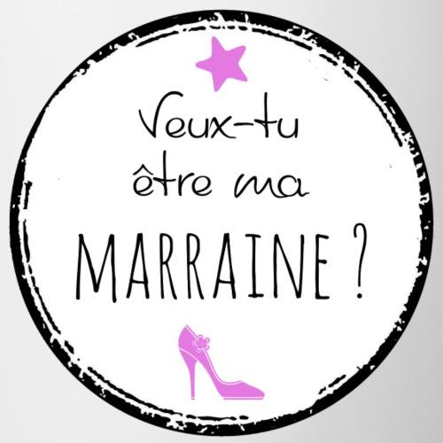 Demande Marraine - Mug contrasté