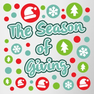 The Season of Giving - Contrasting Mug