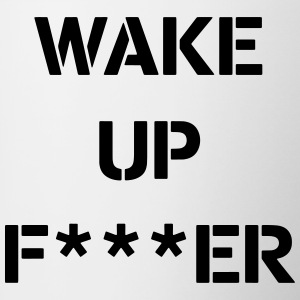WAKE_UP - Mok tweekleurig