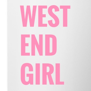 West end girl - Contrasting Mug