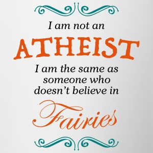 Don't Label me an Atheist! - Contrasting Mug