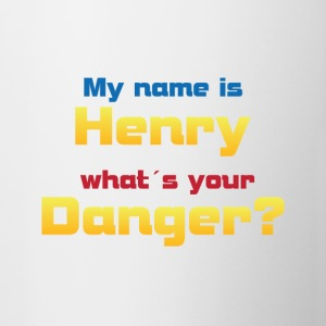 My name is Henry ...? - Contrasting Mug
