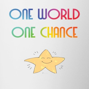 One World One Chance - Mok tweekleurig