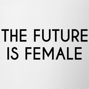 future is female - Tasse bicolore