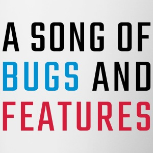 En Song of Bugs og funktioner - Tofarvet krus