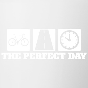 Perfect Day - Road Cycling - Road Cycling - Contrasting Mug