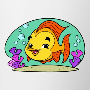 Fishy Art Collection piccolo - Tazze bicolor