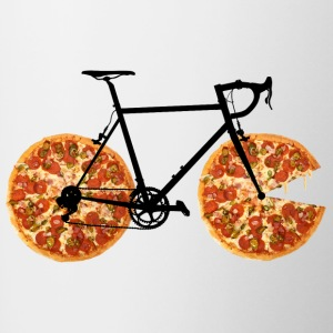 Pizza Bike - Tofarvet krus