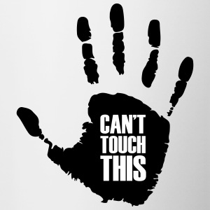 Can't touch this - Mok tweekleurig