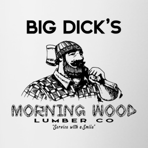 Morning Wood Lumber Lumberjack - Contrasting Mug