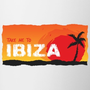 Take Me To Ibiza - Mok tweekleurig