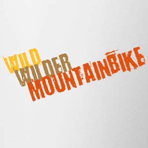 Wild, wild, mountain bike - Contrasting Mug