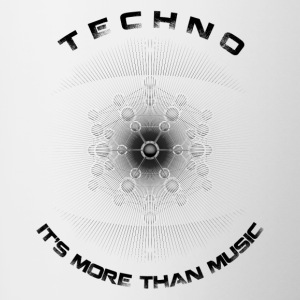 TECHNO - IT'S MORE THAN MUSIC - Contrasting Mug