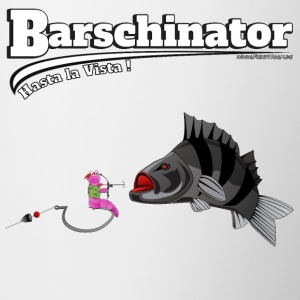 Barschinator - Bass Fishing - Fishyworm - Tasse bicolore