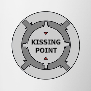 Kissing Point Grey - Tasse zweifarbig
