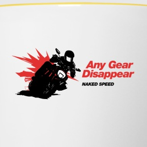 Any Gear Disappear Naked Speed - Contrasting Mug