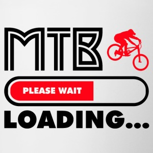 Get ready for MTB - Tasse zweifarbig